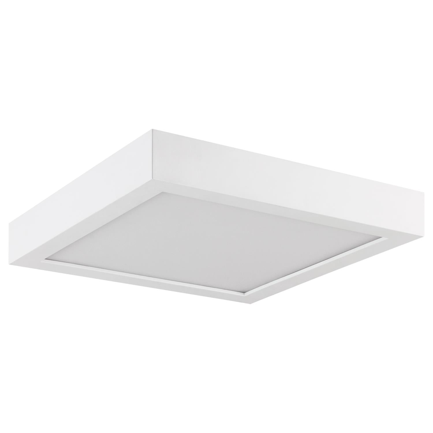 SUNLITE 14W 7in. Square LED Surface Mount Downlight 3000K Warm White