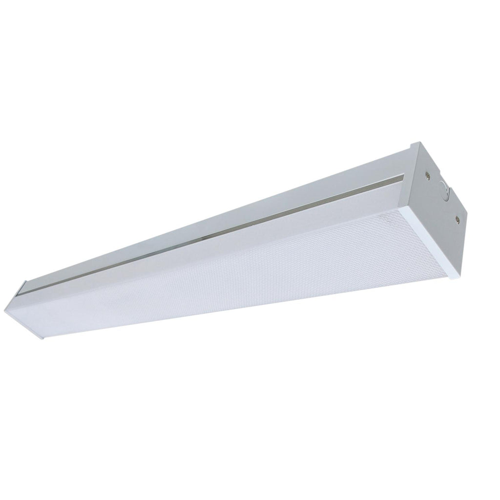 "Sunlite 82085-SU 25w 24"" Square LED Bracket Fixture White Finish 4000K"