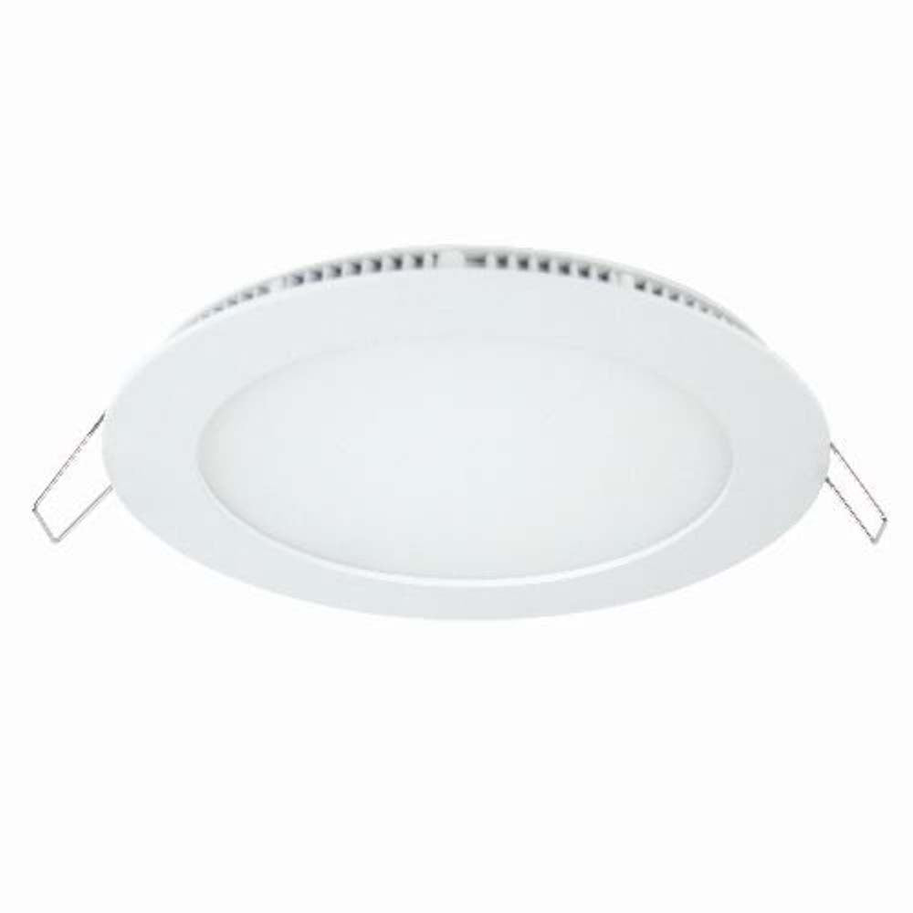 "Sunlite 85060-SU 9w 120v LED 7"" Round Panel Fixture White Warm White 2700k"