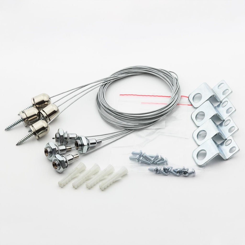 SUNLITE Suspension Kit for LED Flat Panel fix - LFX/FLAT/2X2