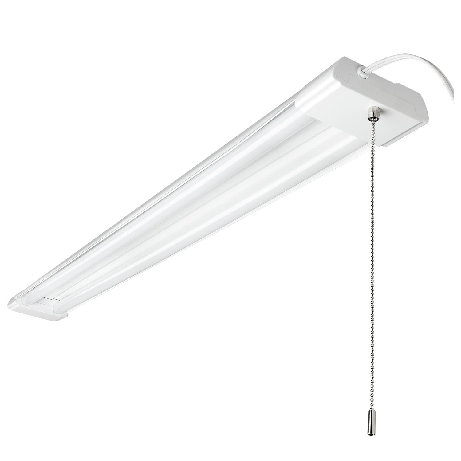 SUNLITE 48in. LED Shop Light Fixture 40W Cool White 4000Lm w/ pull-chain