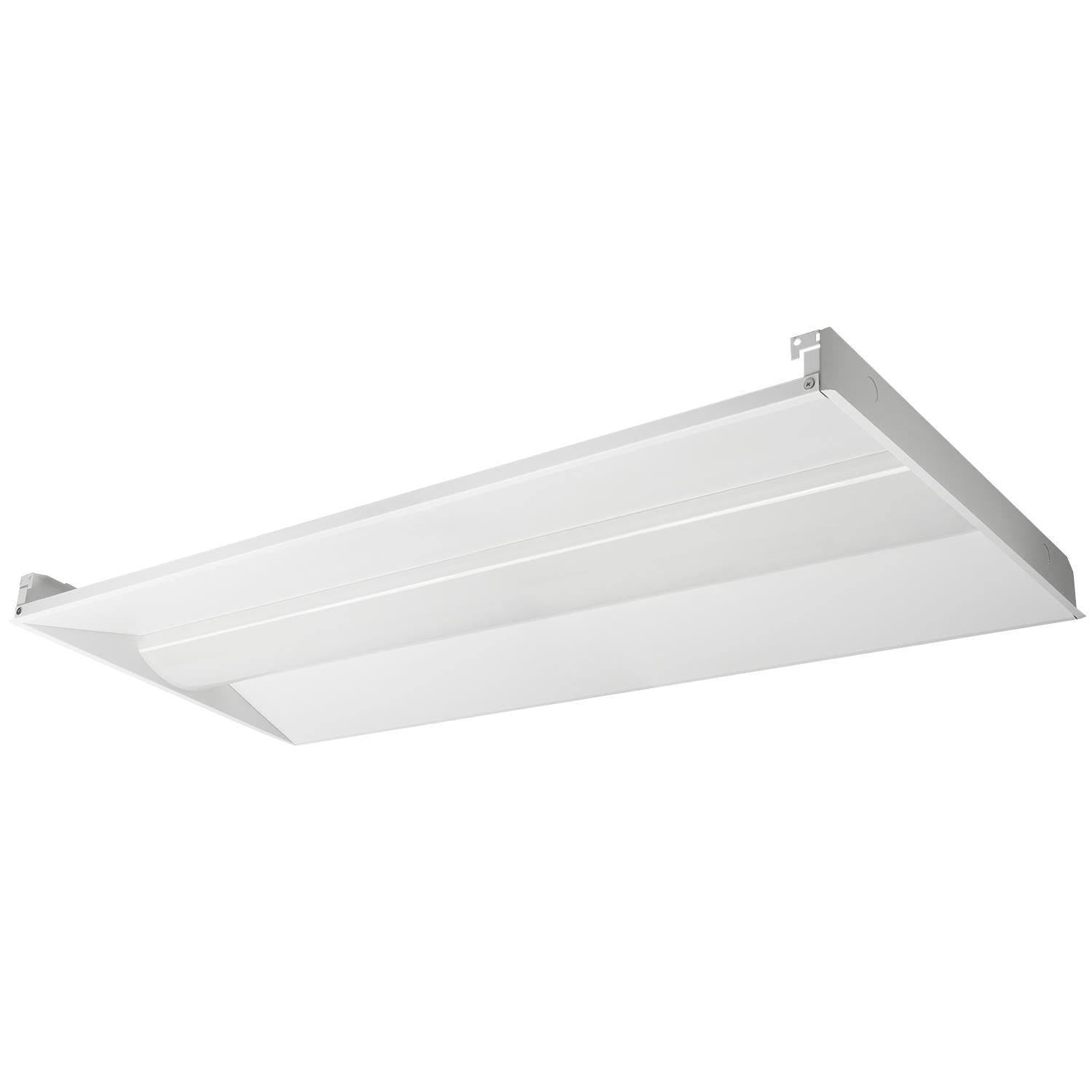 SUNLITE Fixtures 2x4 Dimmable Troffer Cool White 4000K 60W 120-277V