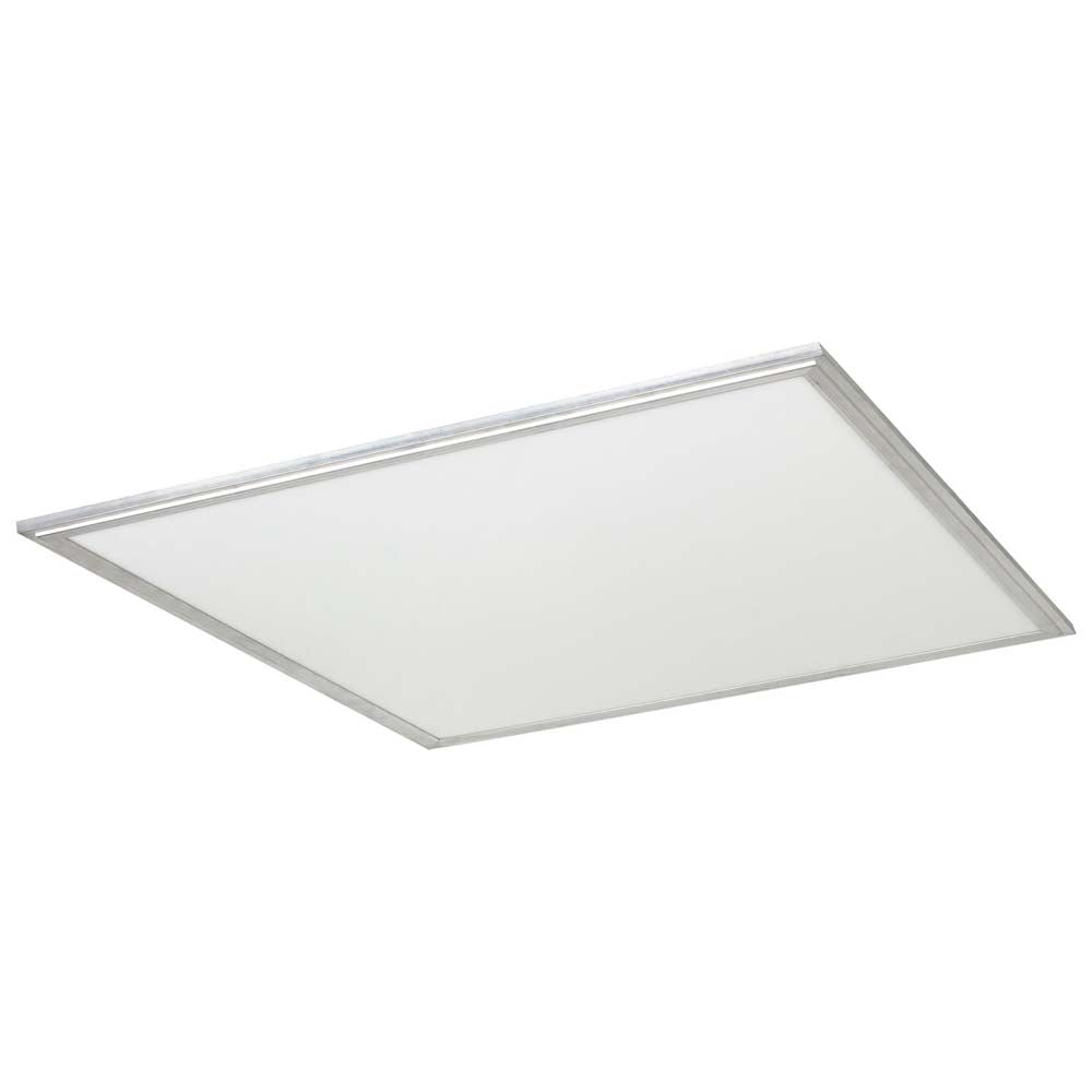 Sunlite 85176-SU 40w 2X2 Square  Flat Panel Fixture Silver Neutral White 3500k