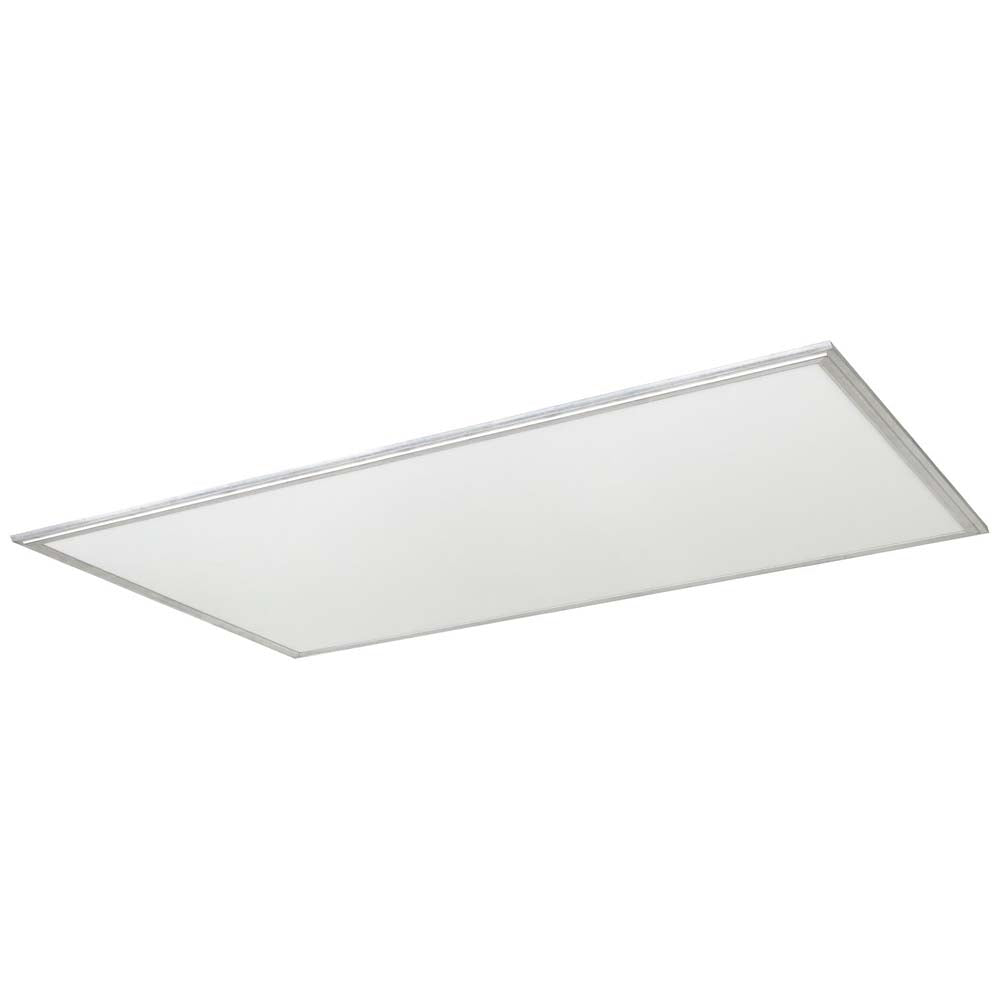 Sunlite 85180-SU 60w 2X4 LED Flat Panel Fixture Silver Warm White 3000K