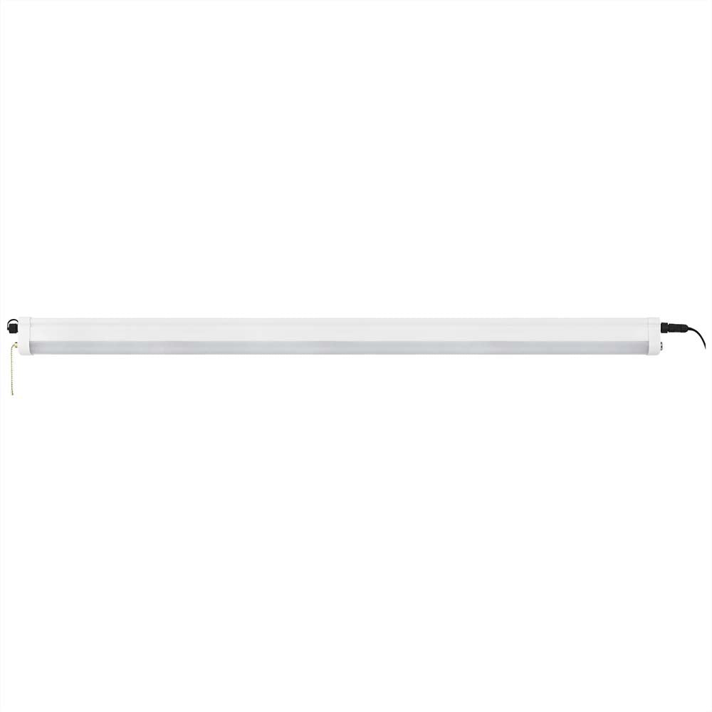 "Sunlite 85316-SU 40w 47.2"" Linear LED Shop Light Fixture White Cool White 4000k"