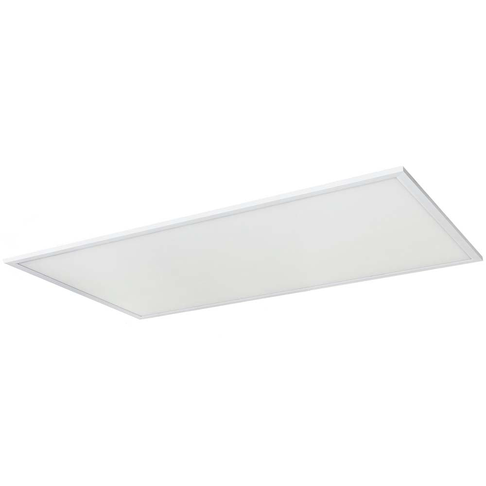 2Pk Sunlite 85380-SU 60w 2X4 LED Flat Panel Fixture White Warm White 3000K