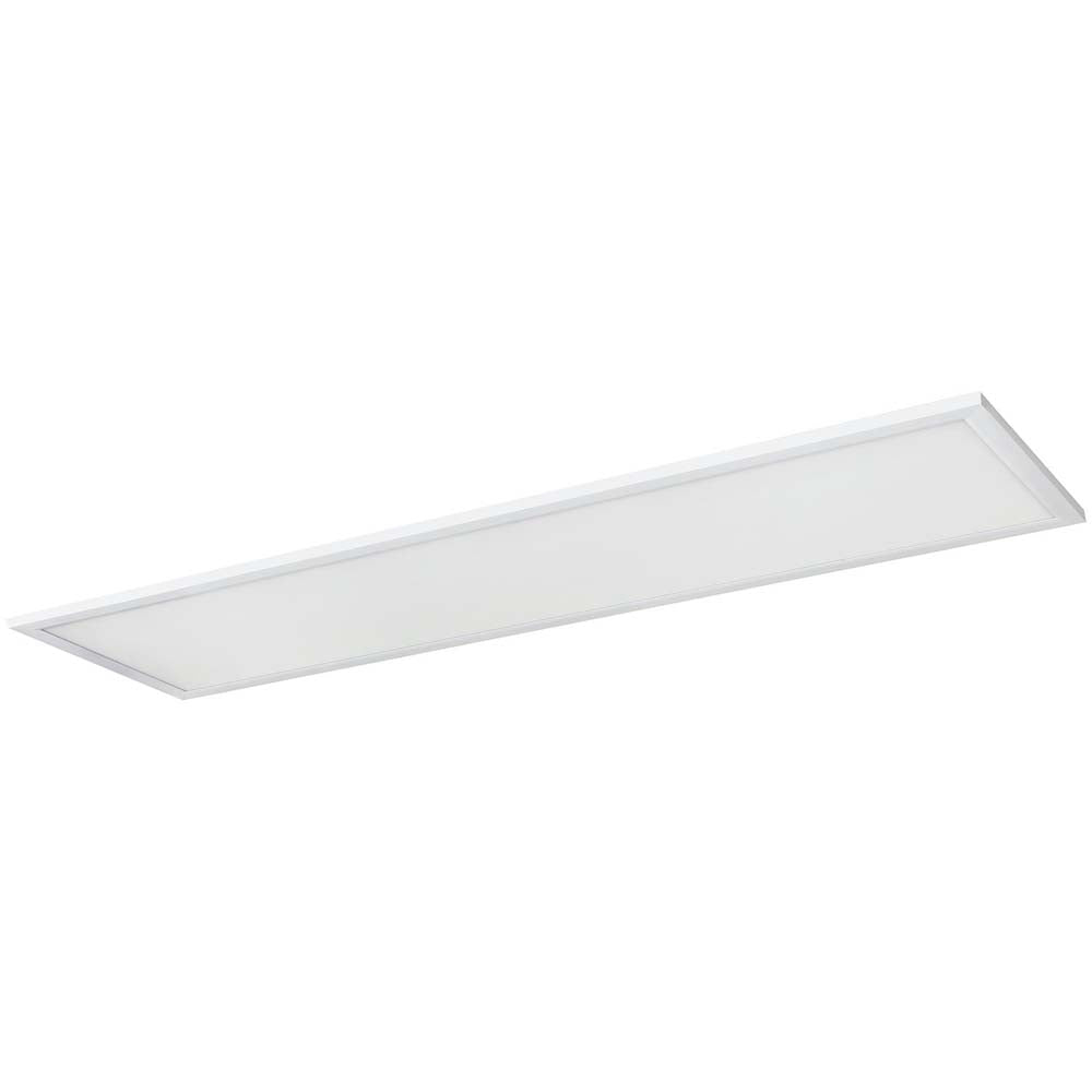 2Pk Sunlite 85393-SU 40w LED Flat Panel Fixture White Super White 5000k