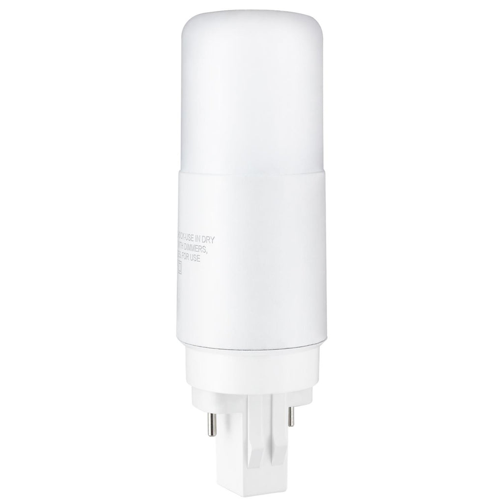SUNLITE 7 Watt PLV LED Bypass Lamp GX23-2 4000K Cool White