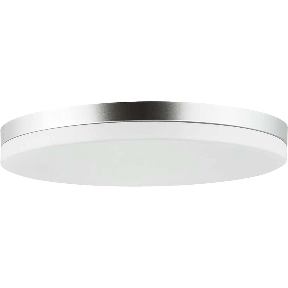 Sunlite 10-in 15w Round LED Solid Band Fixture CCT Tunable White Finish