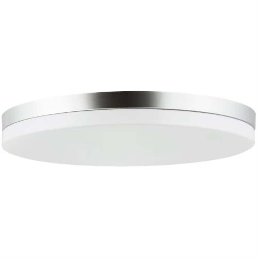 Sunlite 13-in Round LED Solid Band Fixture CCT Tunable White Finish - 120w-equiv