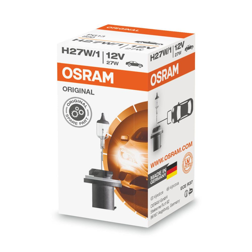 OSRAM 880 H27W/1 Original Line High-Performance Halogen Automotive Bulb