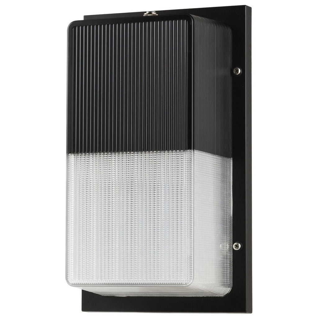 SUNLITE 15w LED Bronze Wall Pack with Photo control - 5000K