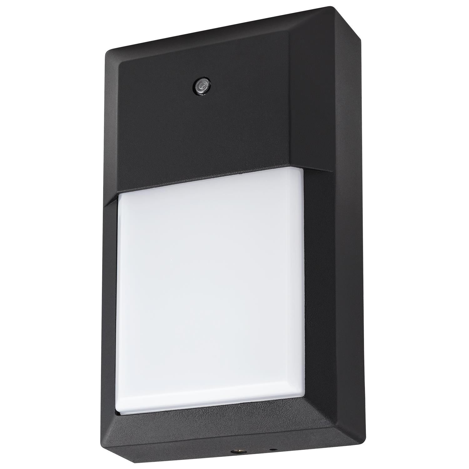 Sunlite LED Slim Wall Pack Outdoor Fixture Built-in Photocell 30K - Warm White
