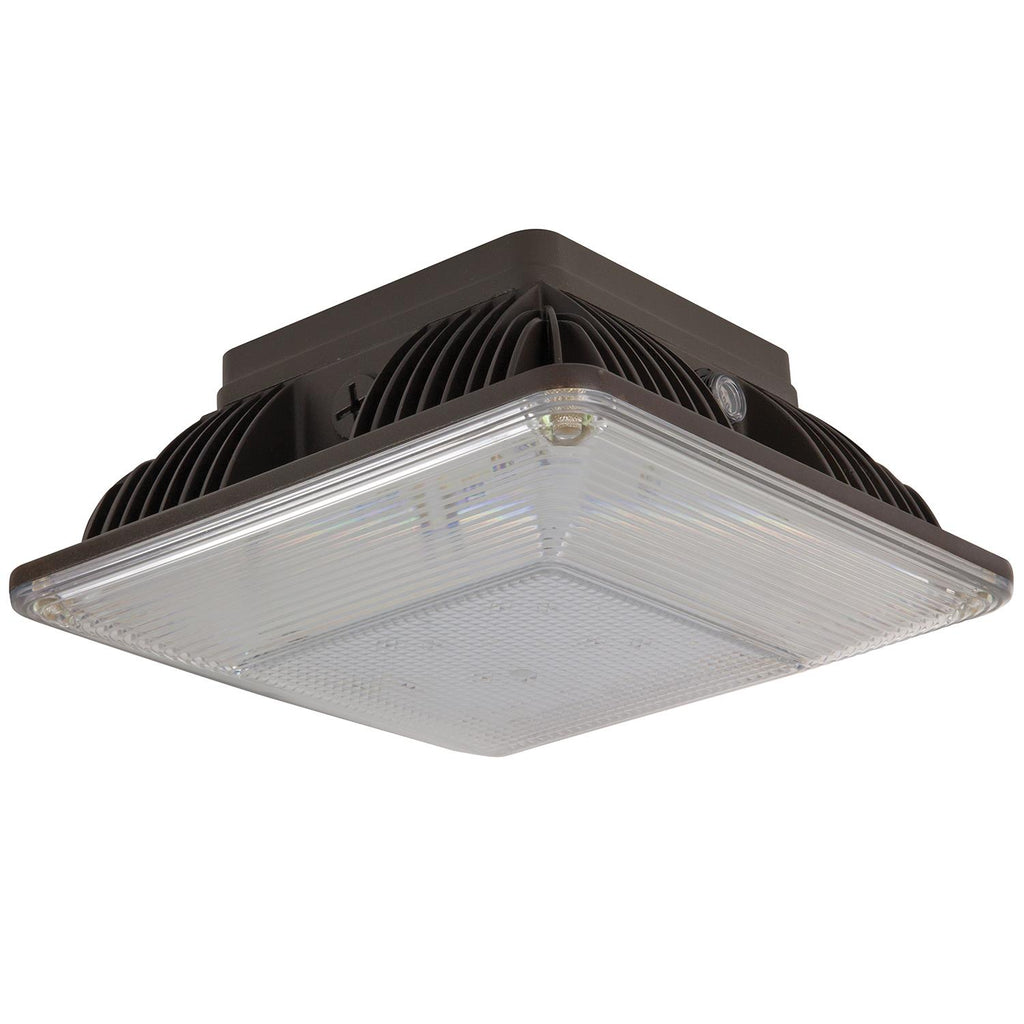 Sunlite 88127-SU Ceiling Mount Fixture 5000K Super White 40W 100-277V Outdoor Series