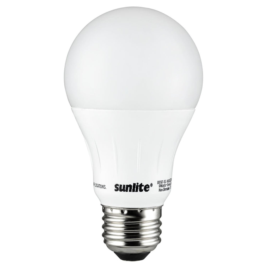 SUNLITE A19 LED 9W 120V E26 Medium Base Plant Growth Bulb
