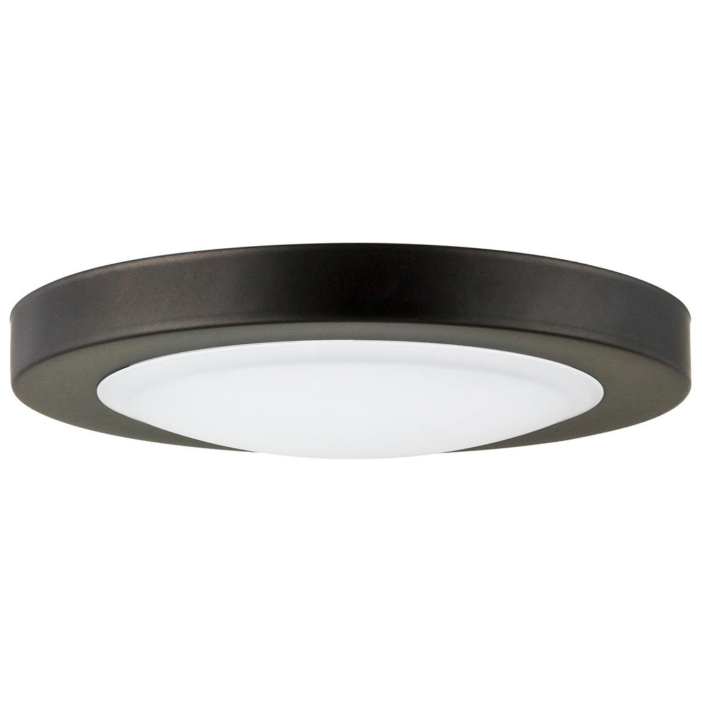 SUNLITE LED Oil Rubbed Bronze Mini Ceiling Light Fixture 7.5in 15w Cool White 4000K