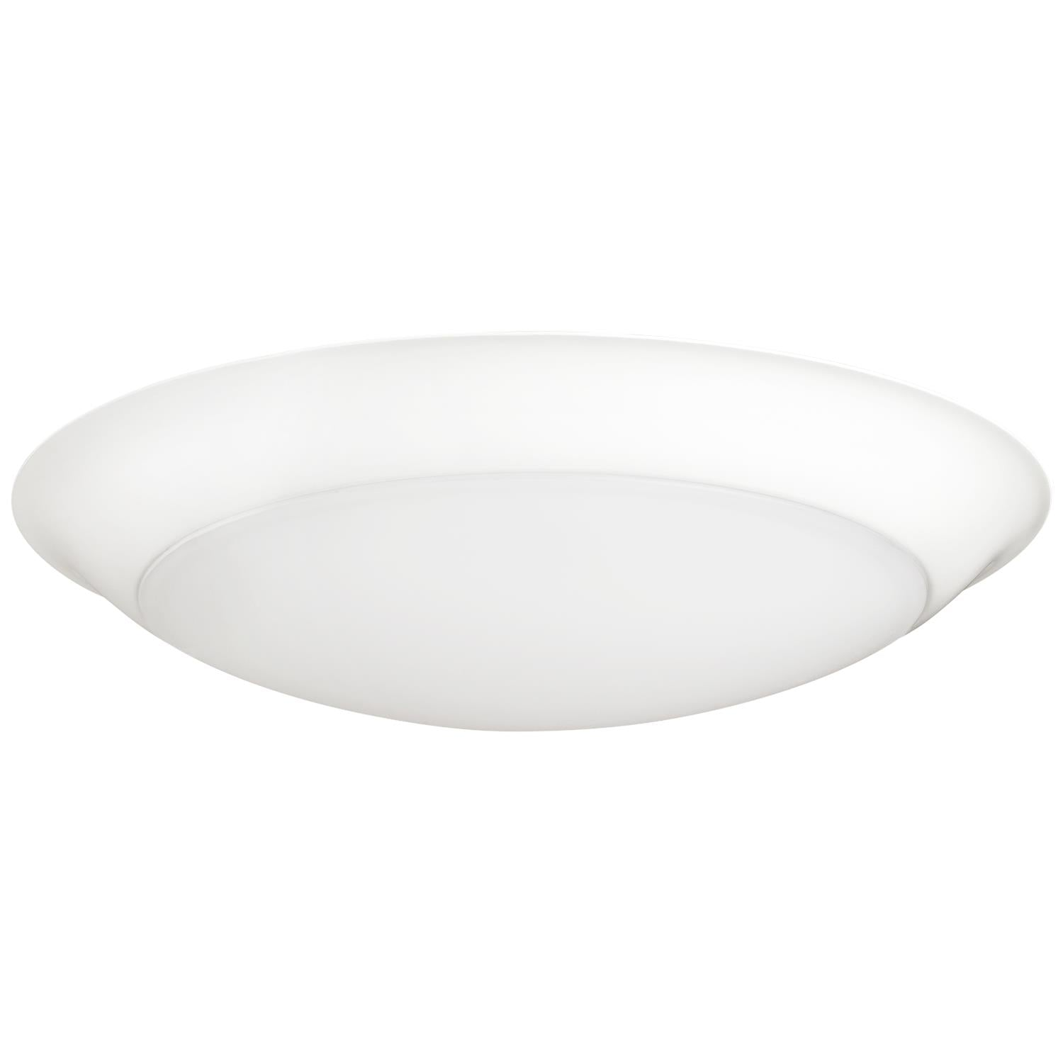 "SUNLITE 6"" Round LED Slim Downlights Mini Flat Panel Fixture 3000K - Warm White"