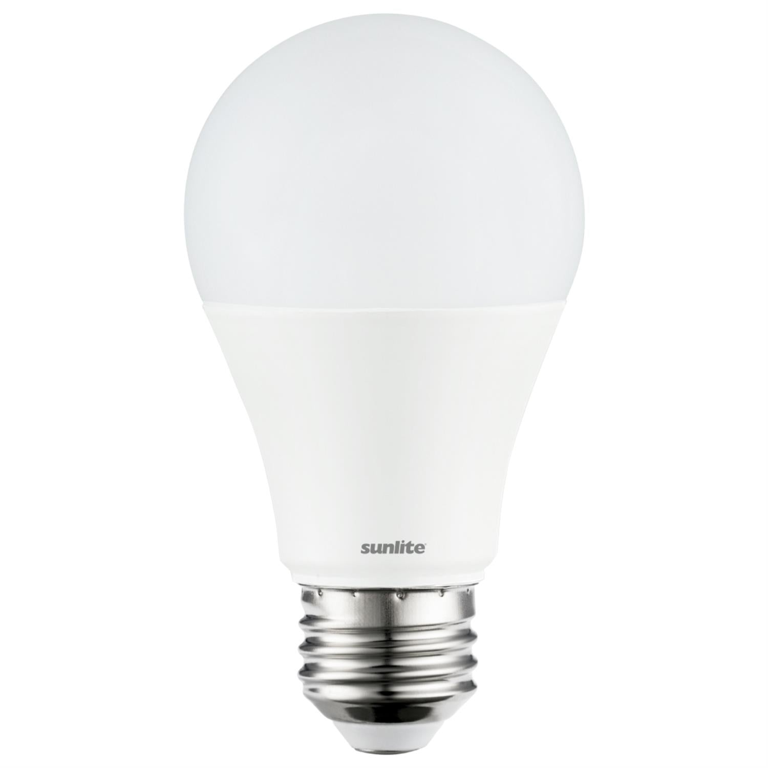 Sunlite 10w A19 Household Lamp E26 Medium Base 3000K Warm White
