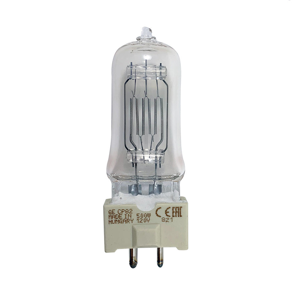 GE FRG 500w FRG-Q500T8 GY9.5 Projector Halogen Light Bulb