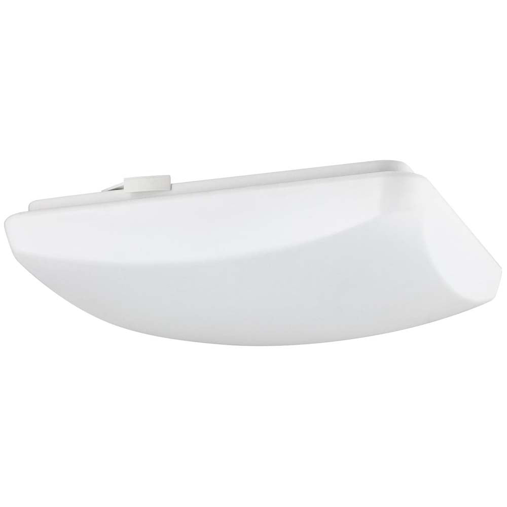 "Sunlite 88690-SU 15w 120v 11"" LED Square Mushroom Fixture White Warm White 3000k"
