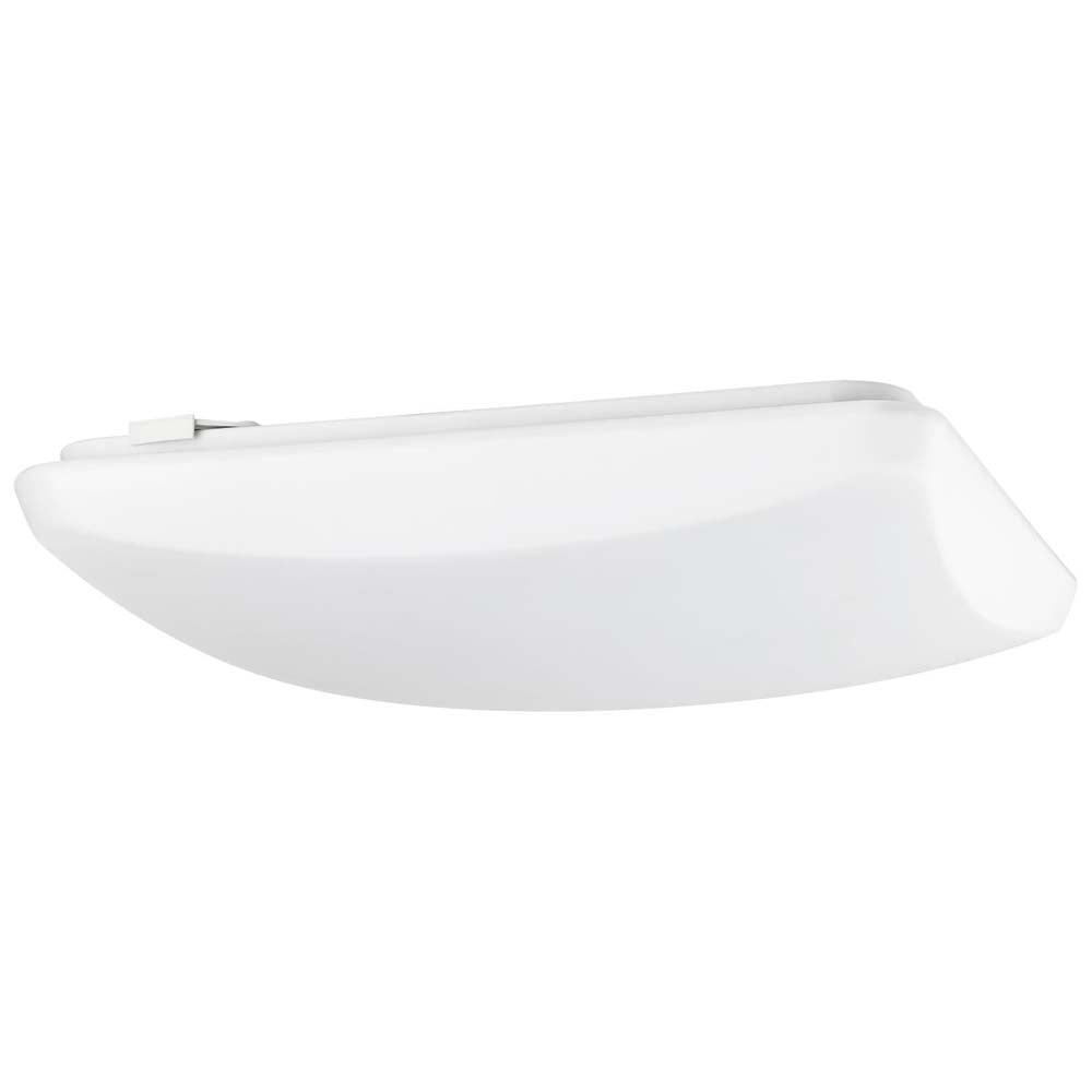"Sunlite 88693-SU 14"" LED Square Mushroom Ceiling Fixture White Cool White 4000k"