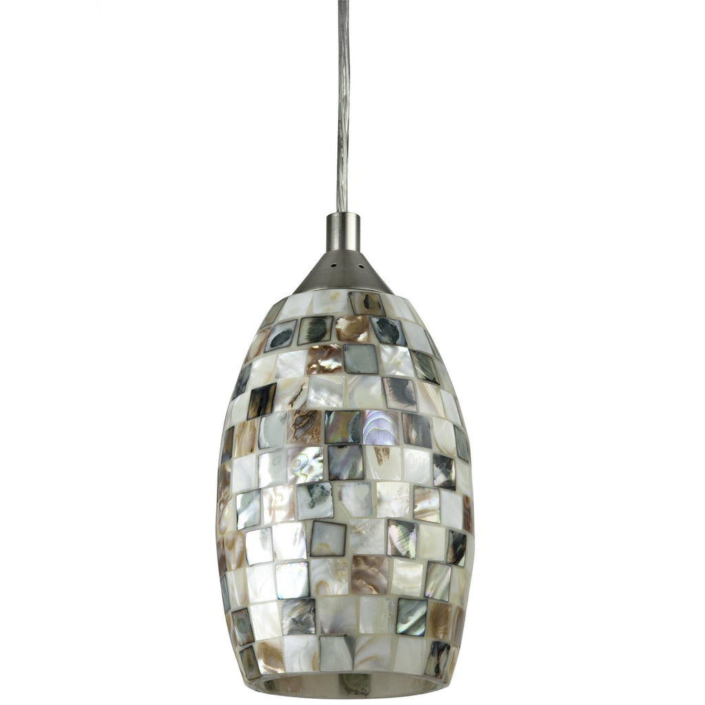 SUNLITE 9w LED Glass Decorative Pendants Light Venice Style - 3000K