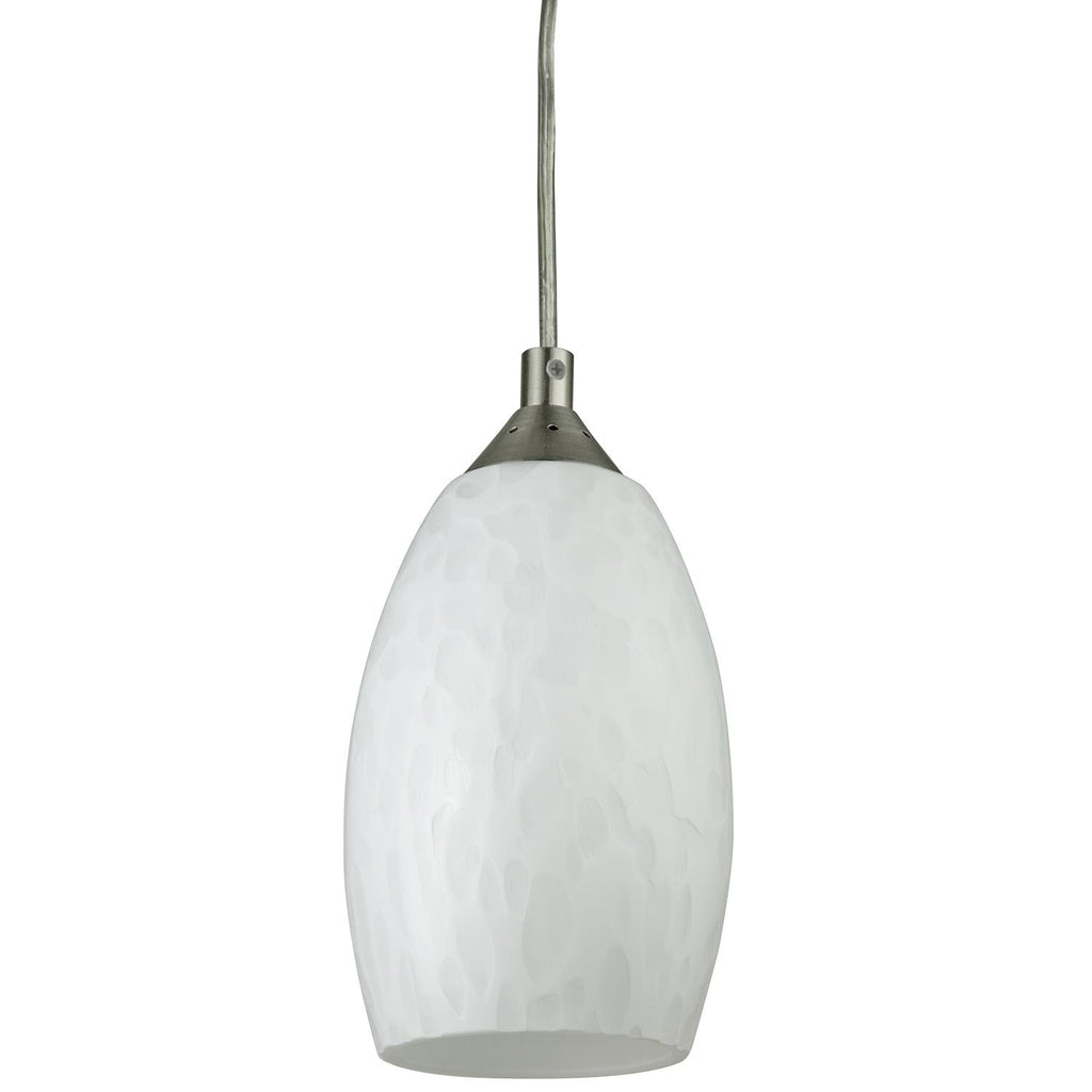 SUNLITE 9W Juneau Style LED Glass Decorative Pendants Light - 3000K