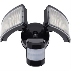 Sunlite 88912-SU 24w Square  Floodlights Fixture 5000k Super White Black
