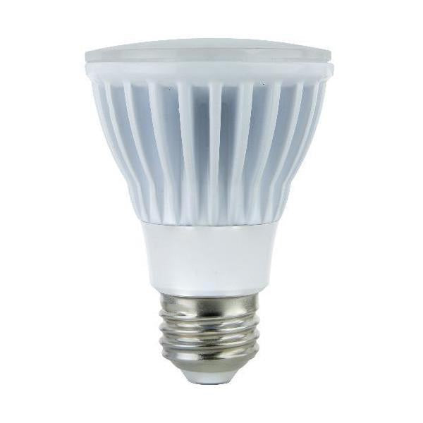 Sunlite 8w 120v PAR20 5000k Cool White WFL100 Dimmable LED Light Bulb