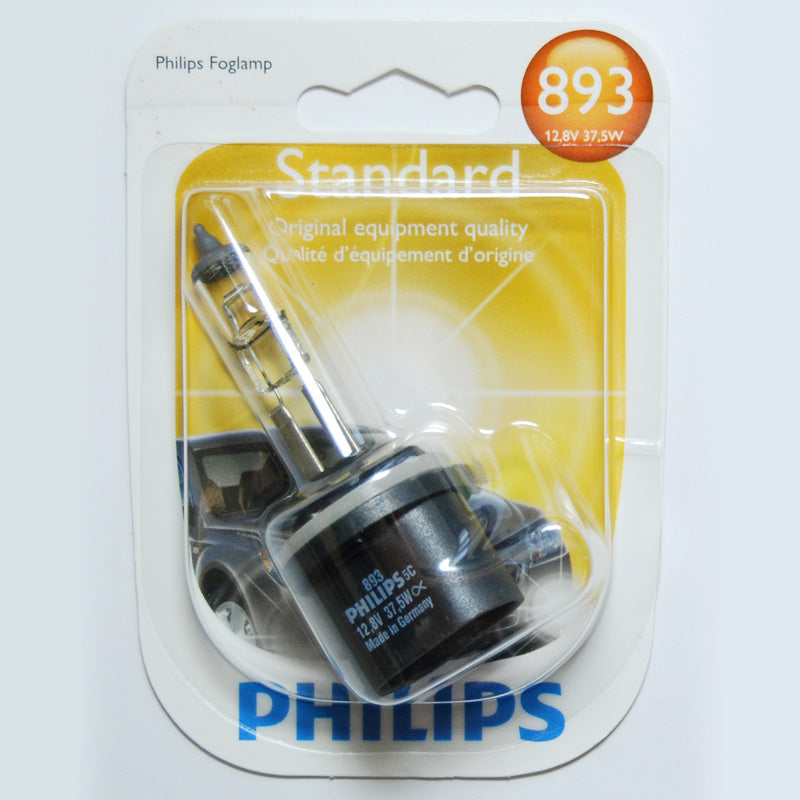 Philips 893 - 37.5w 12.8v PG13 Base Automotive Bulb