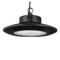 Sunlite 89597-SU 200w Round High Bay Fixture 5000k Super White Black