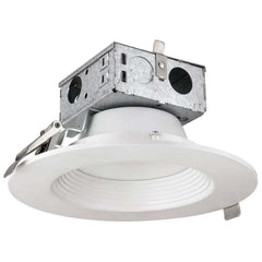 "SUNLITE 89930-SU 4"" Recessed Round LED Baffle Jbox Retrofit Warm White 3000K"