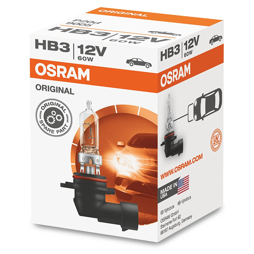 Osram / Sylvania 9005 HB3 12V 60W Original Line High Performance Automotive Bulb