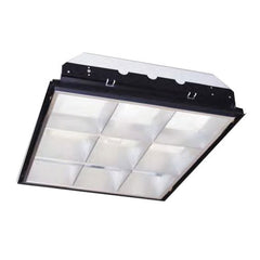 Sunlite F32T8 120V AD18 Recessed Deep Lay-in Commercial Fixture