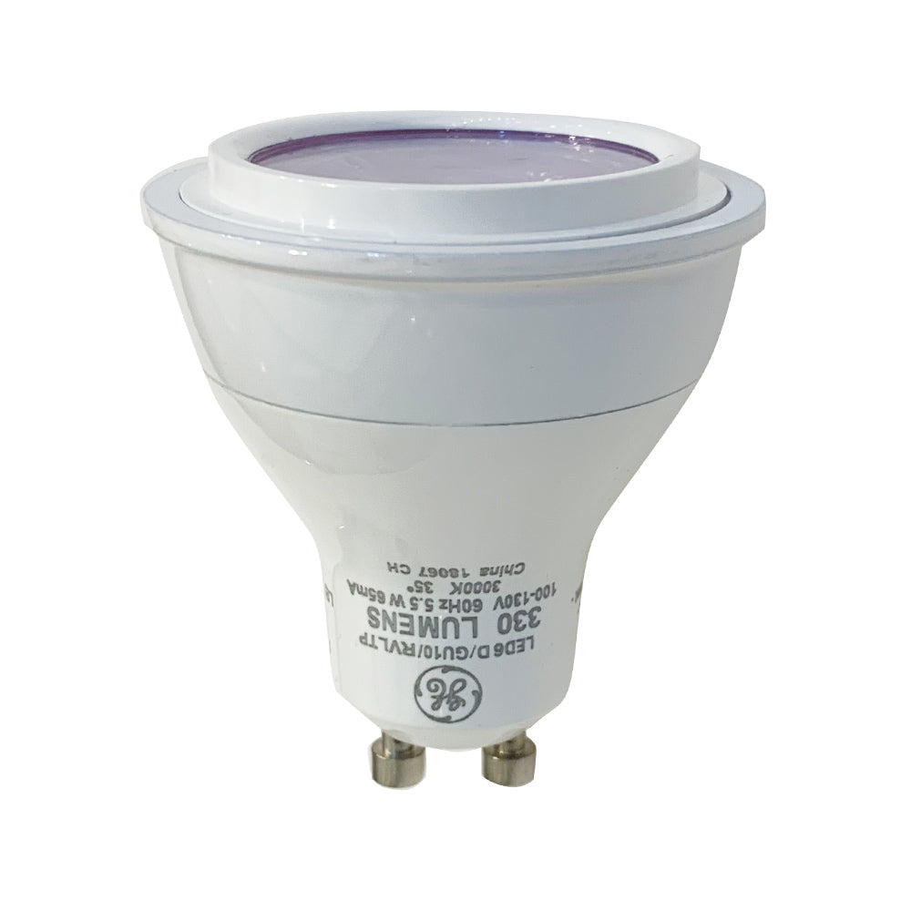 GE 5.5w LED MR16 GU10 3000K Dimmable Light Bulb - 50w equiv.