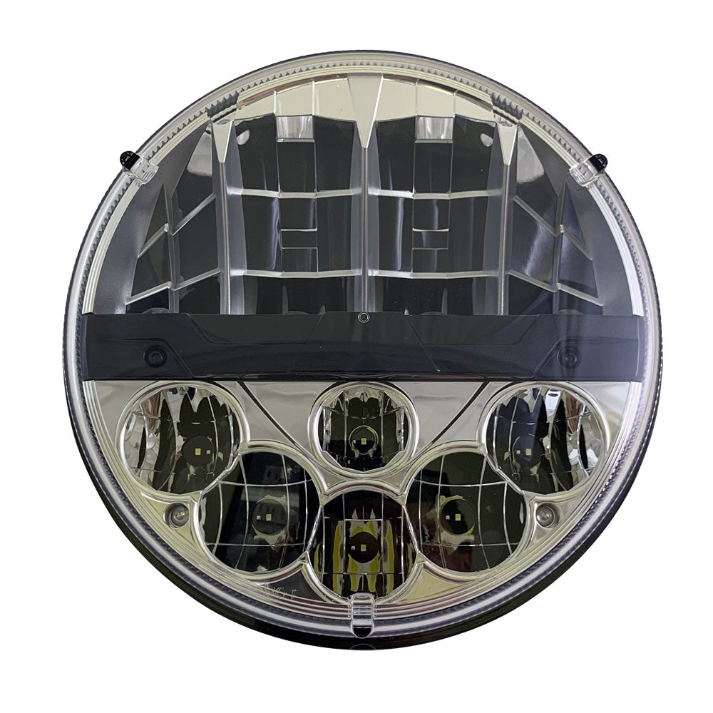 7in. Round Nighthawk LED Headlamp replacement for 6012, 6014, 6015, 6016, 6017, H5024, H6024