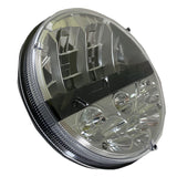 7 Inch round Nighthawk LED Headlamp replacement for 6012, 6014, 6015, 6016, 6017, H5024, H6024 - BulbAmerica