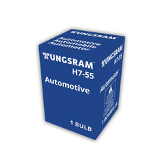Tungsram H7-55 UNIT Standard head lamps Automotive Bulb