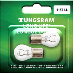 2Pk - Tungsram 1157LL Long Life Miniatures Automotive Bulb