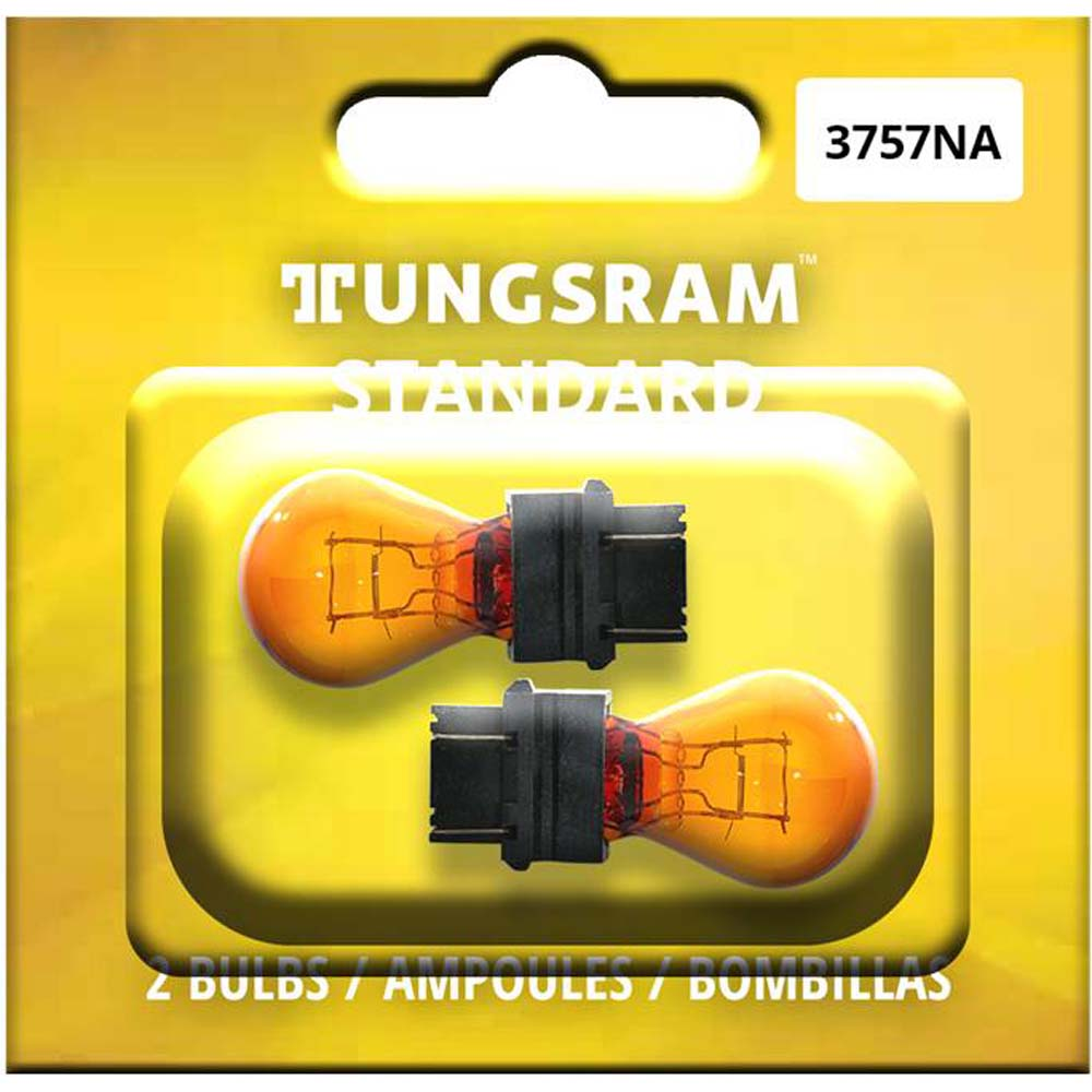 2Pk - Tungsram 3757NA Standard Miniatures Automotive Bulb