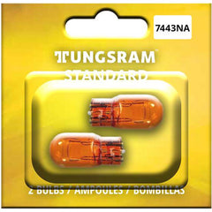 2Pk - Tungsram 7443NA Standard Miniatures Automotive Bulb