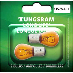 2Pk - Tungsram 1157NALL Long Life Miniatures Automotive Bulb