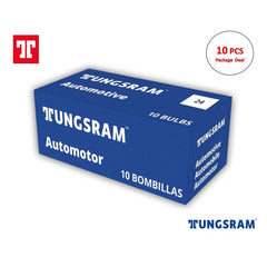 10PK - Tungsram 24 Standard Miniatures Automotive Bulb
