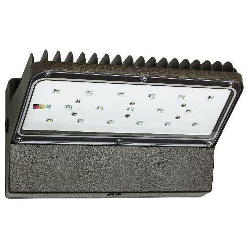 Outdoor Dimmable Led Wall Lights : Sunlite 60W Dimmable 5000K LED Downlights Wall Pack Outdoor Light Fixt ? BulbAmerica