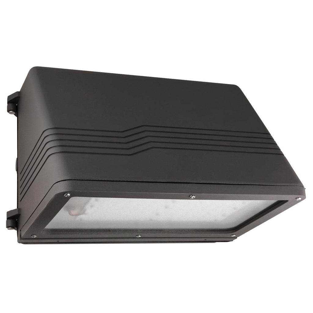 SUNLITE 75w LED Outdoor Wall Mounted Multivolt Wall Pack - 5000k