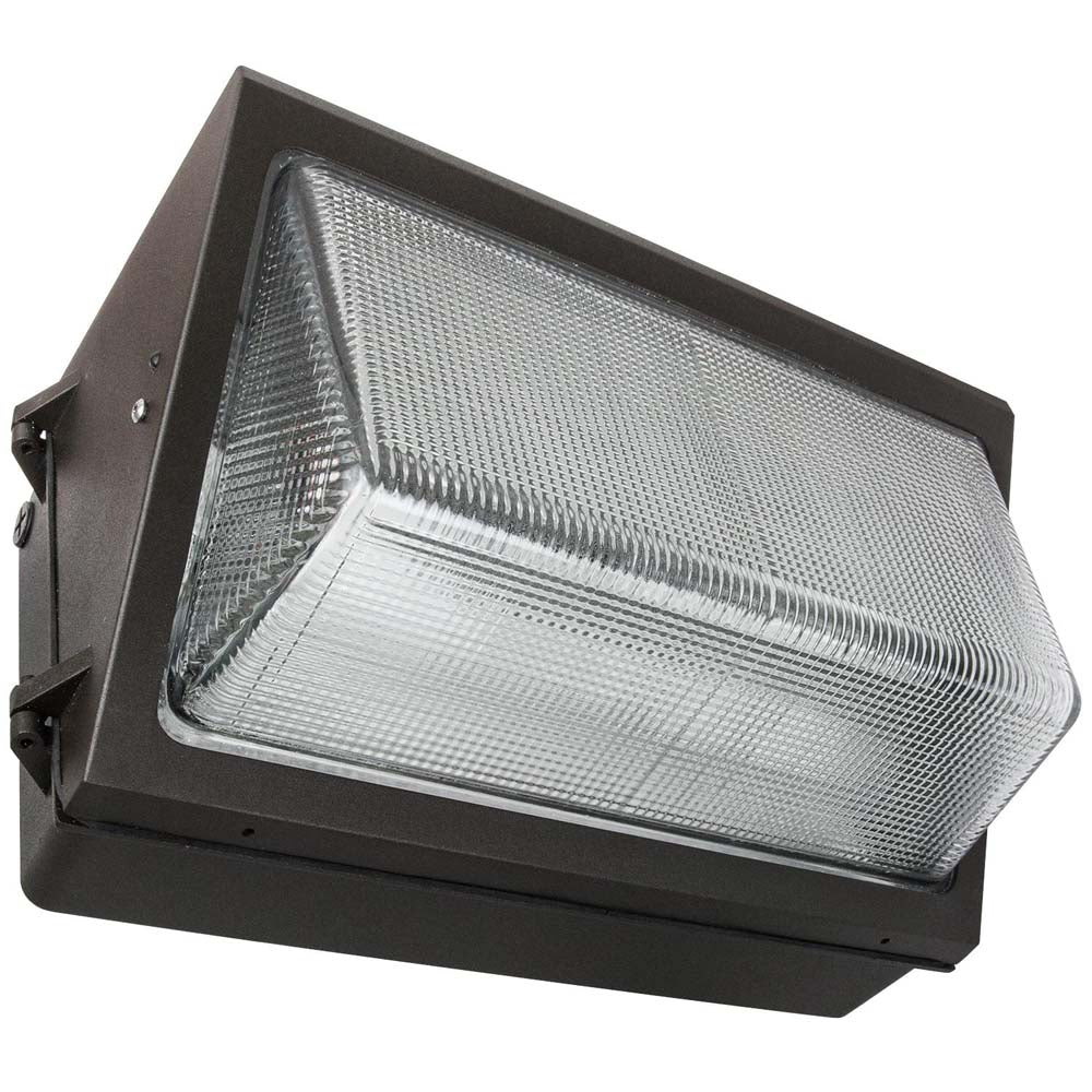 Sunlite 97083-SU 25w LED Large Wall Pack Fixture Bronze Super White 5000k