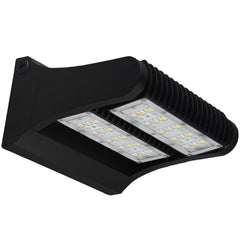 SUNLITE 60W Integrated LED Rotable Wall Pack Fixture 5000K Super White