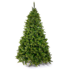 Vickerman 6.5Ft. Green 976 Tips Christmas Tree 450 Multi-color Dura-Lit