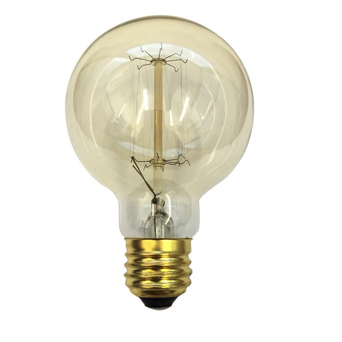 Antique 40w Globe G25 Vintage Style 120v Incandescent Light Bulb