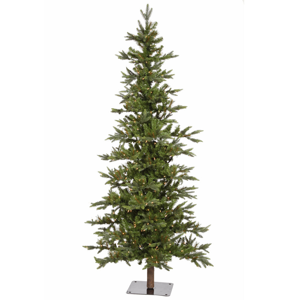 Vickerman 8Ft. Green 1194 Tips Christmas Tree 400 Warm White Wide Angle LED